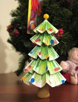 Árbol de Navidad para decorar la habitación de los niños