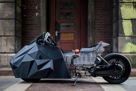 Electrificada y lista para devorar el 1/8 de milla en Glemseck, así es la BMW C Evolution de Krautmotors