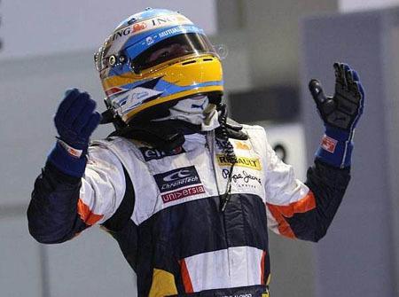 Fernando Alonso conquista Japón