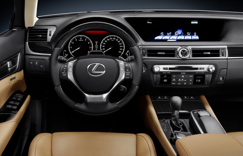 Foto de Lexus GS 2012 (16/21)