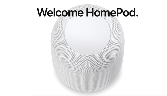 welcome HomePod