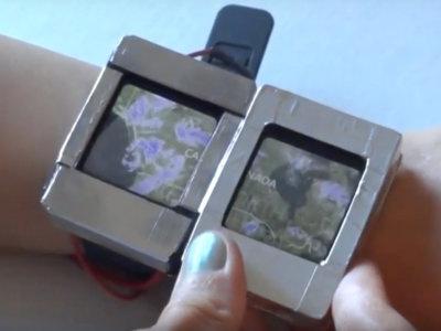 Si creen que una no es suficiente, ¿qué tal tener dos pantallas en un smartwatch?