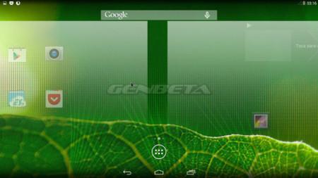 Android-x86 Cambio de pantalla