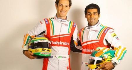 Bruno Senna y Karun Chandhok fichan por el equipo Mahindra para la Fórmula E