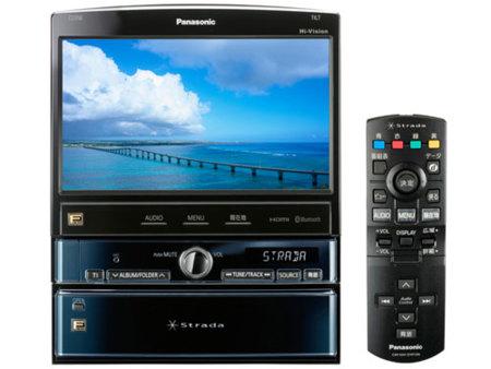 Panasonic lanza un reproductor de Blu-Ray para el coche
