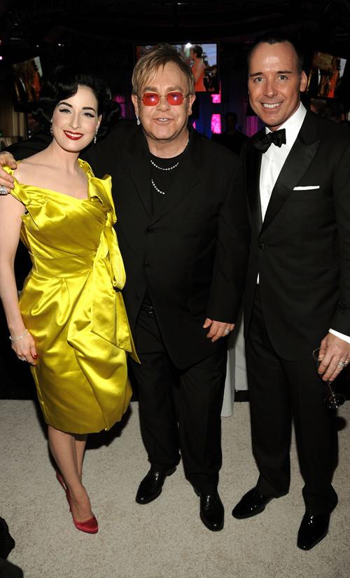 Foto de Fiesta de Elton John tras los Oscars (4/12)