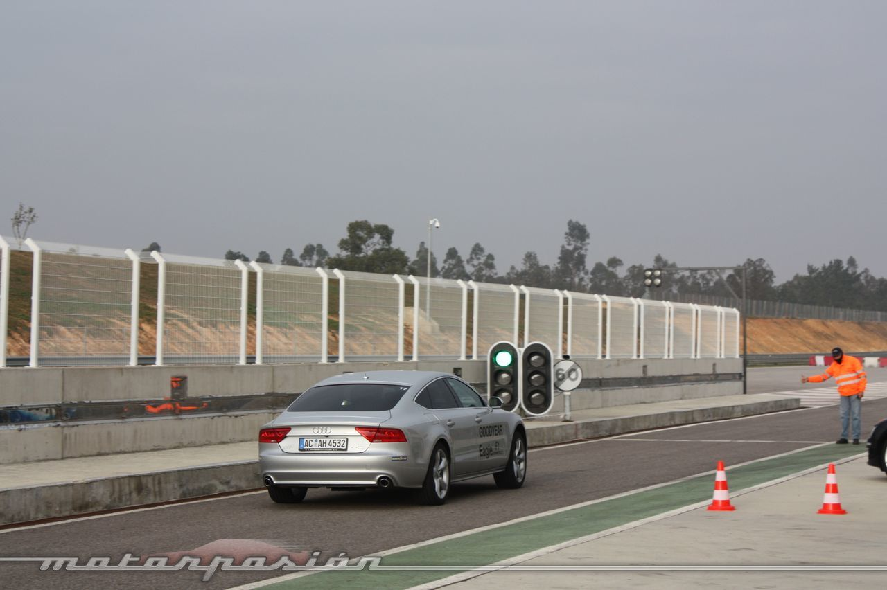 Foto de Goodyear Eagle F1: Audi TT RS, Audi A7 y Mercedes CLS (48/79)