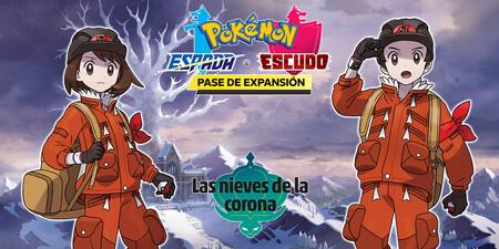 La expansión Las Nieves de la Corona de Pokémon Espada y Escudo fija su fecha de lanzamiento para finales de octubre