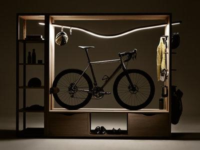 Mueble para guardar tu bici en casa