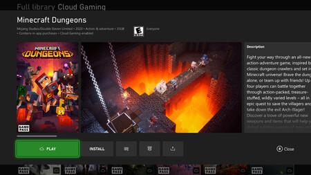 Play Minecraft Dungeons