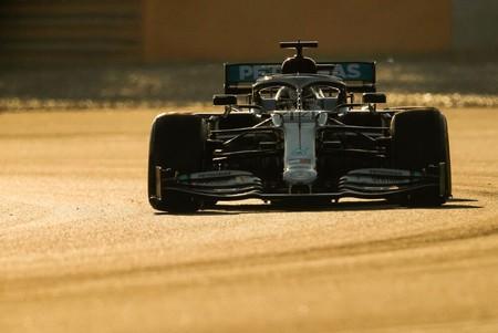 Hamilton Test F1 2020