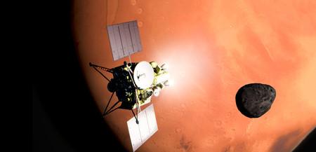 Japón explorará y traerá por primera vez muestras de Phobos, una de las lunas de Marte