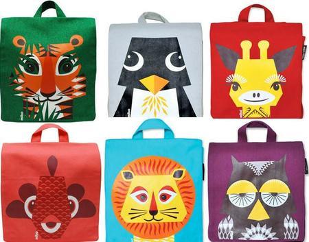 Simpáticas mochilas de animales para la vuelta al cole