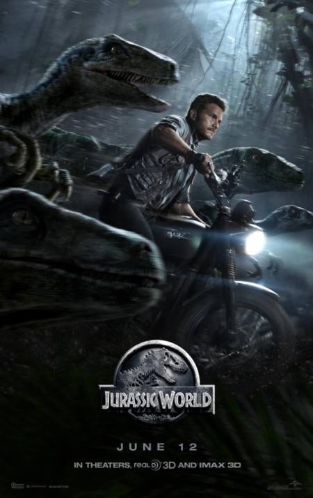 Chris Pratt en un nuevo cartel de Jurassic World