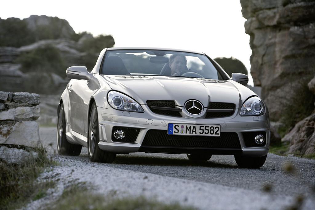 Foto de Mercedes SLK 55 AMG (3/22)