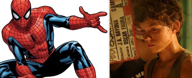 Tom Holland será Spider-Man
