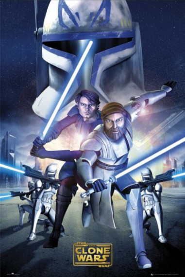 Otro cartel de The clone wars