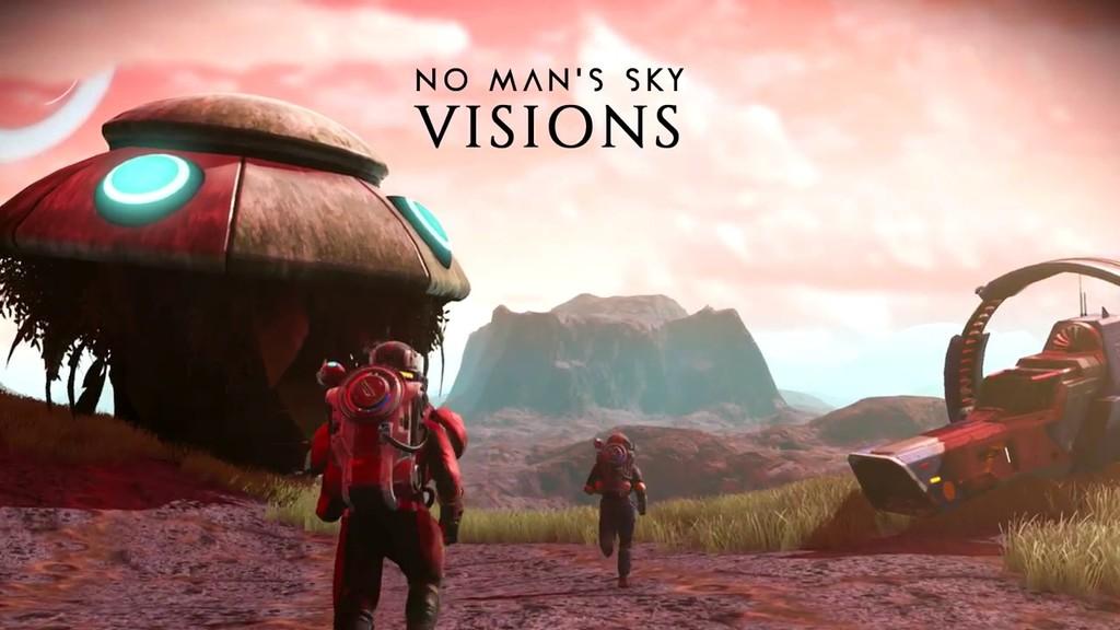 Visions es la próxima actualización de No Man's Sky
