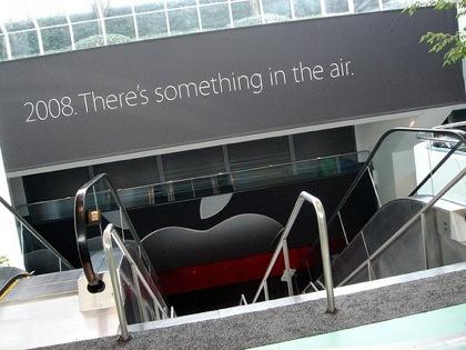 Estamos siguiendo la keynote de Steve Jobs en la MacWorld 2008