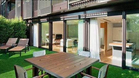 Casa messi - terraza