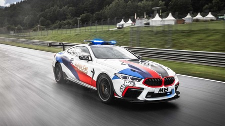 Así luce el brutal BMW M8 Competition de 625 CV vestido como nuevo Safety Car de MotoGP