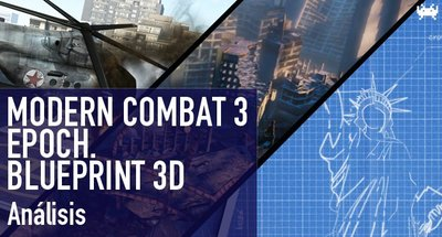 'Modern Combat 3', 'EPOCH.' y 'Blueprint 3D' para iOS: análisis