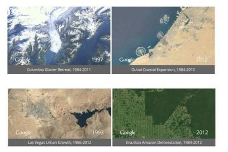 [Vídeo] TimeLapse en los últimos 28 años de la Tierra