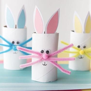 21 manualidades fáciles para hacer con los tubos del papel higiénico y divertirnos con los niños