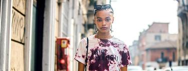 11 camisetas tie-dye como las que triunfan en el street style (pero en versión low-cost)