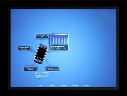 Portátil multitáctil de Microsoft