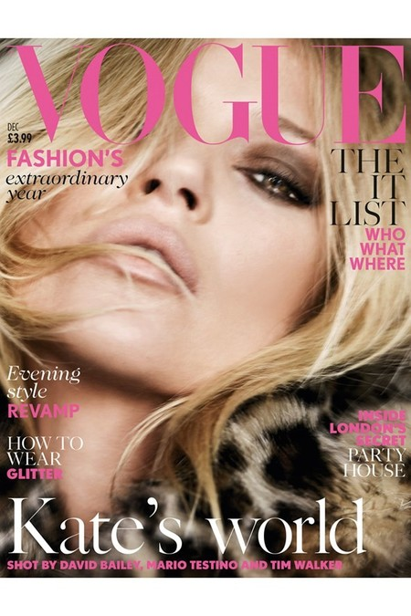 Vogue UK: Kate Moss