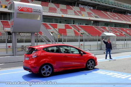 Ford Fiesta ST, miniprueba en el Circuit de Catalunya