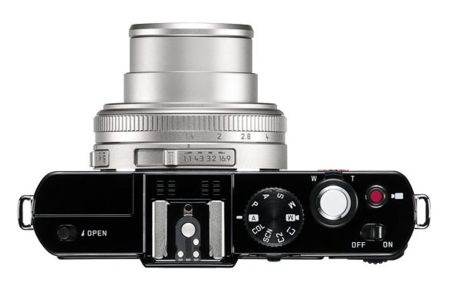 Leica D-Lux 6 Silver Edition controles