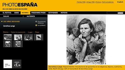 PHE2009 Dorothea Lange. Los años decisivos