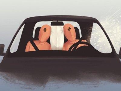 Airbag central delantero, mira la  propuesta de seguridad por parte de ZF