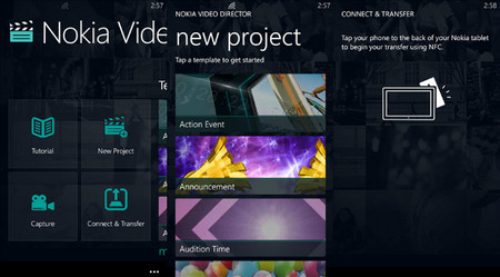 Nokia Video Director ya disponible para el tablet Lumia 2520 y para móviles Lumia