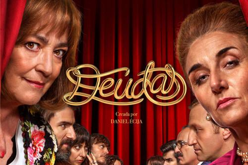 'Deudas': la nueva serie de Daniel Écija es una comedia con una prometedora historia de rivalidad a la que le falta contundencia