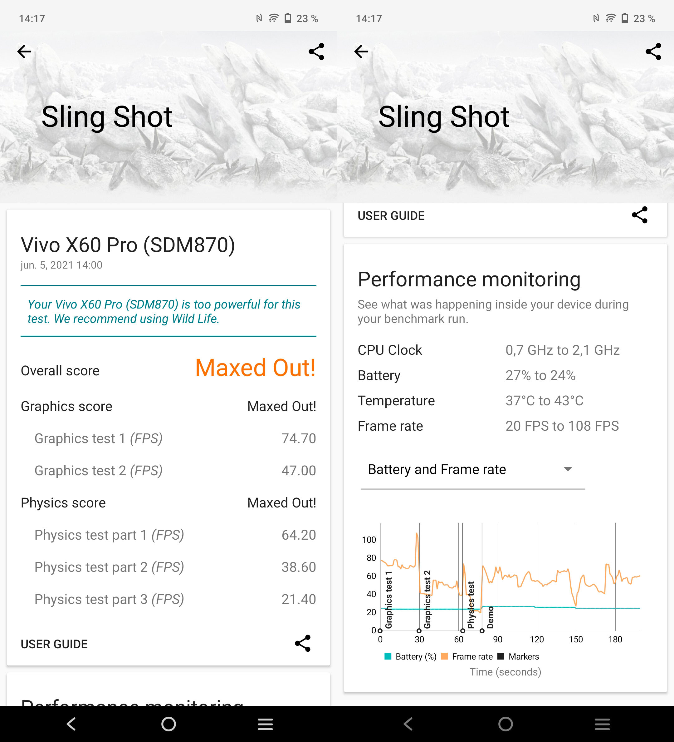 Foto de Vivo X60 Pro, benchmarks (1/4)