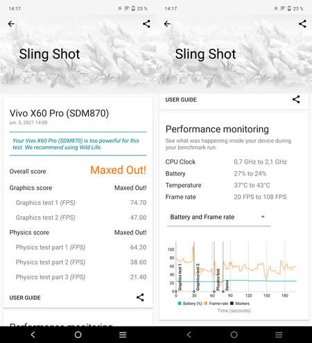 Vivo X60 Pro, benchmarks