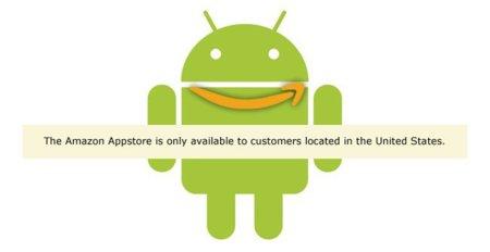 Amazon Appstore empieza a funcionar fuera de Estados Unidos