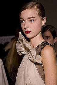 El look Nars en la Semana de la Moda de Nueva York: el backstage