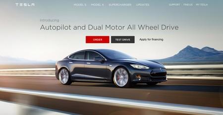 Web Tesla Piloto Automatico