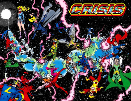 Crisis On Infinite Earths 001