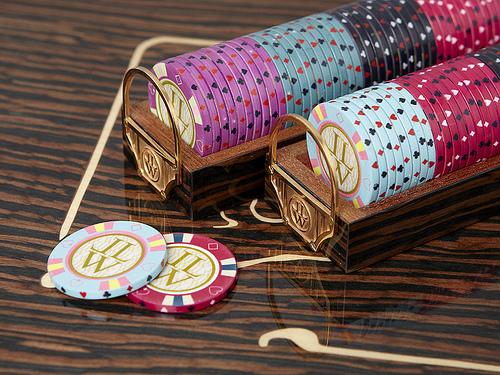 Foto de Mysterio Unique Custom Poker Box de Lancelot Lancaster White (4/5)