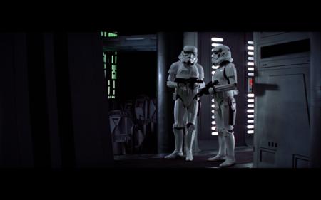Stormtroopers charlando en Star Wars