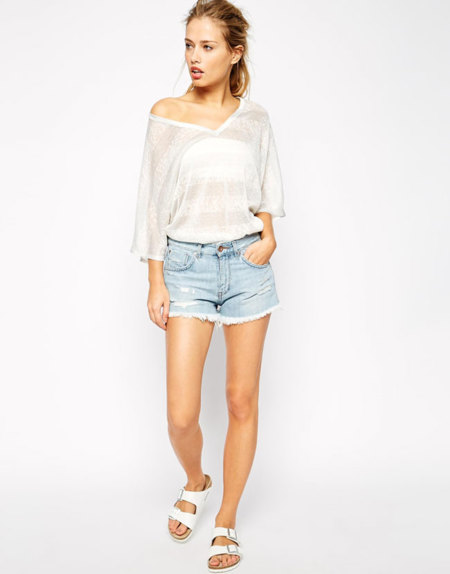 Supertrash Denim Shorts