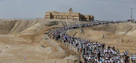 Israelíes o palestinas, no importa. Más de 5.000 mujeres marchan por la paz en Oriente Medio