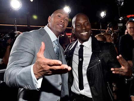 """Dwayne Johnson contra Tyrese Gibson: la rivalidad que amenaza con dividir la """"familia"""" de 'Fast & Furious'"""