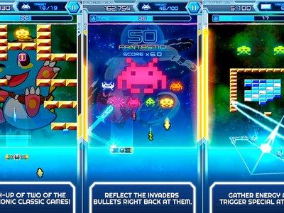 Arkanoid vs Space Invaders: los juegos más exitosos de los 70 y 80 se unen en un sólo título