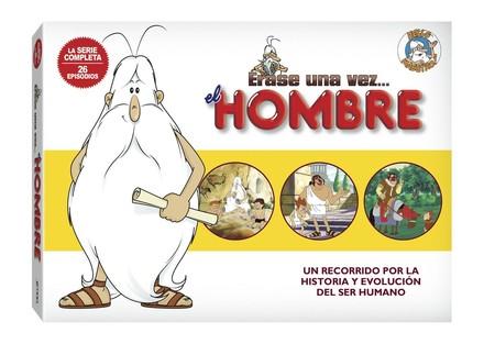 La serie educativa infantil Érase una vez el Hombre, en DVD, por 20,49 euros